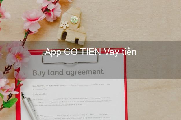 App CO TIEN Vay tiền