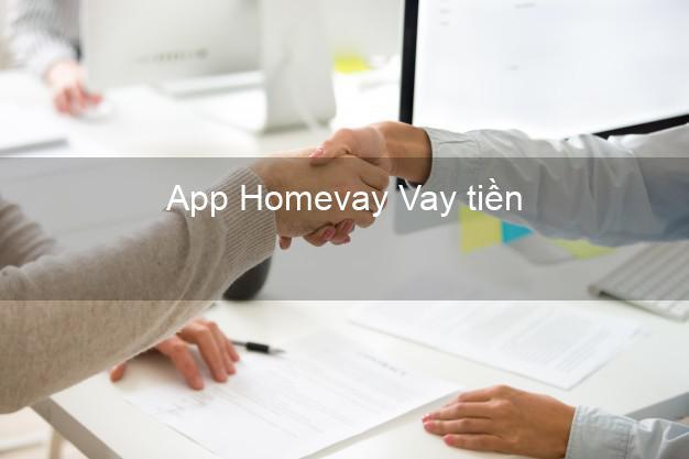 App Homevay Vay tiền