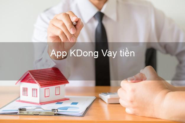 App KDong Vay tiền