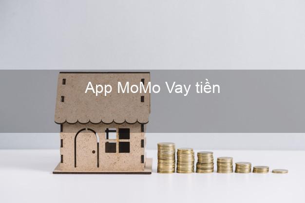 App MoMo Vay tiền