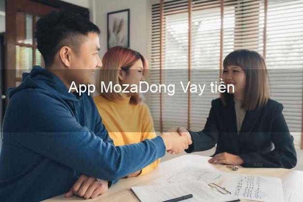 App MozaDong Vay tiền