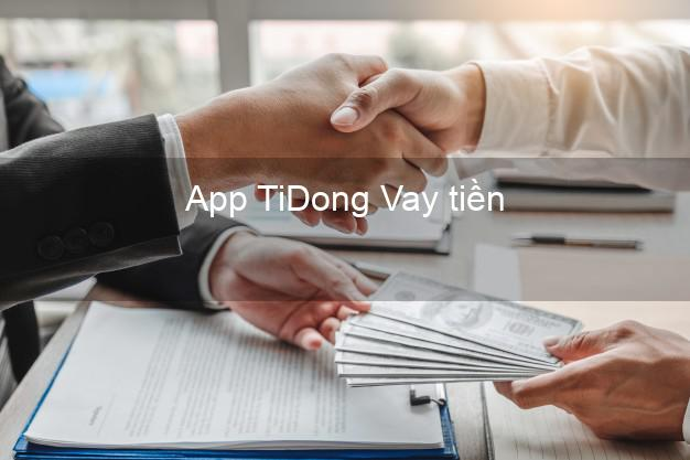 App TiDong Vay tiền