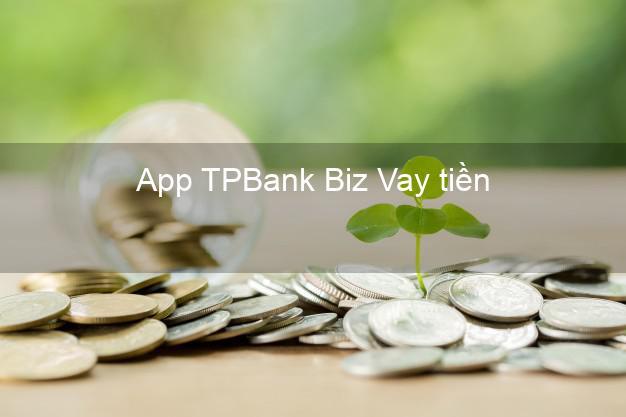 App TPBank Biz Vay tiền