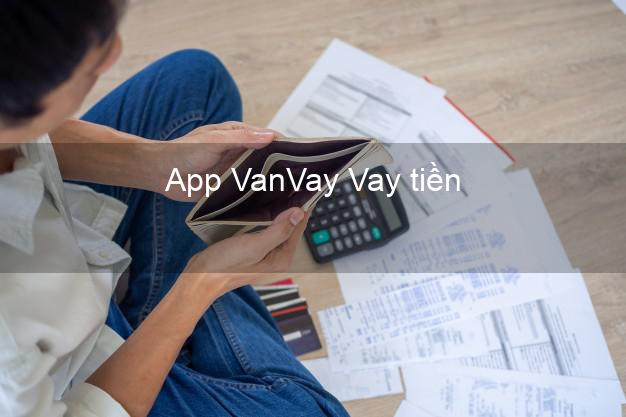 App VanVay Vay tiền