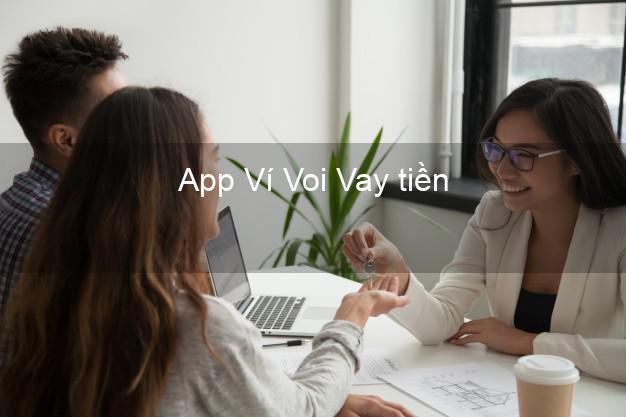 App Ví Voi Vay tiền