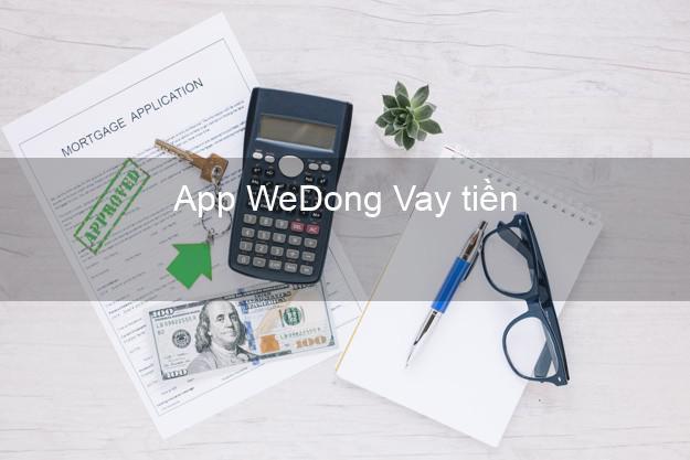 App WeDong Vay tiền
