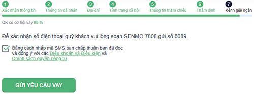 Hướng dẫn vay tiền SenMo đơn giản nhất
